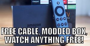 Modded Fire TV Streaming box, watch ANYTHING for free! for Sale in Cambridge, MA
