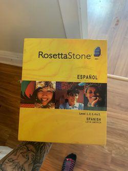 Rosetta Stone Spanish full version for Sale in Pittsburgh,  PA