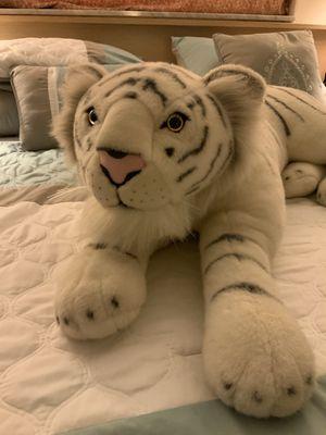 "White Tiger Stuffed Animal 36"" for Sale in Tamarac, FL"