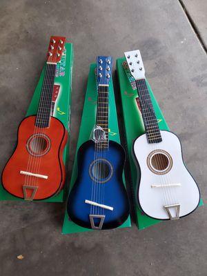 New kids guitars $10 each for Sale in Riverside, CA