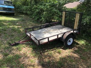 5x8 utility trailer with new tires and wheels for Sale in Seffner, FL