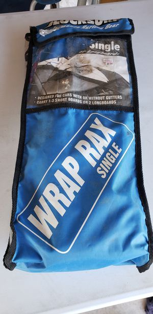 Blocksurf Wrap Rax and Block roof soft protection for hauling SUP, surfboards, and kayaks for Sale in Litchfield Park, AZ