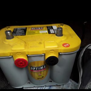 OPTIMA BATTERIES AVAILABLE AGM GEL BATTERIES DEEP-CYCLE 💯 CHARGE for Sale in Anaheim, CA