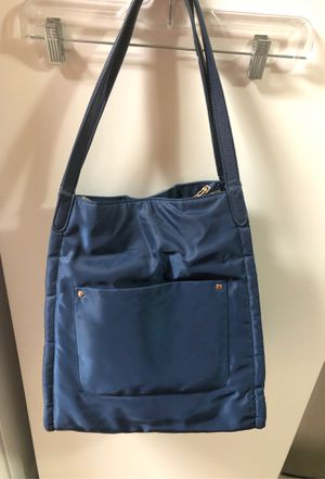 A NEW DAY nylon large tote bag purse navy blue for Sale in San Diego, CA