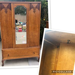 Antique Armoire for Sale in Cypress, CA