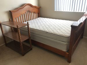 Full Bed Frame/Dresser for Sale in San Diego, CA