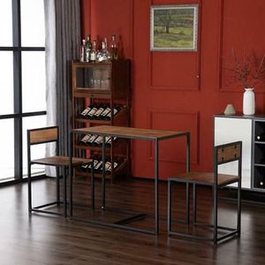 SHIPPING ONLY 3 Piece Minimalist Dining Furniture Set for Breakfast Bar or Kitchen for Sale in Las Vegas, NV