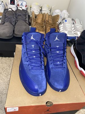 ALL BLUE SUED 12s for Sale in Takoma Park, MD