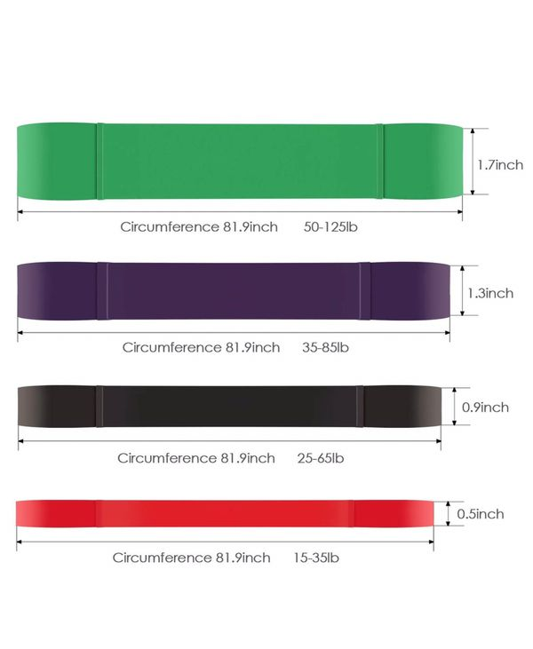 5 resistance bands one price!