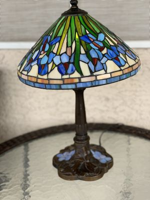 Pewter Stain glass lamp shade for Sale in Henderson, NV