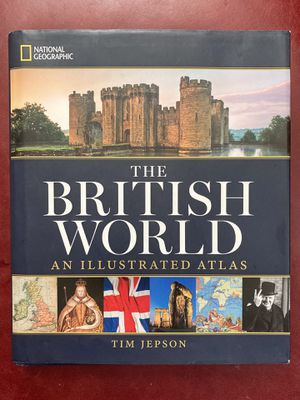 The British World Book + Map for Sale in Groton, MA