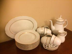 Coffee/tea cups, plates, dish for Sale in Alexandria, VA