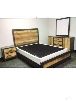 New!! 3Pc Bedroom Set,Furniture,Queen Bed,2 Drawer Nightstand,Bedroom,Double Dresser-QUEEN SIZE for Sale in Phoenix, AZ