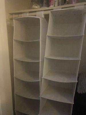 Foldable closet shelves for Sale in Stone Mountain, GA