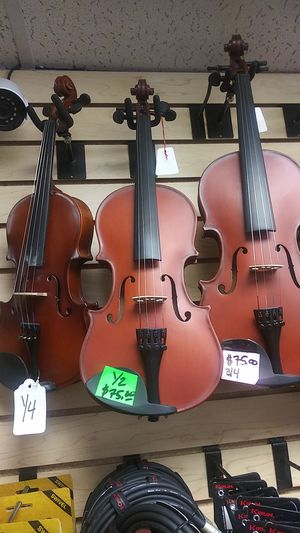 VIOLIN ANY SIZE NEW W CASE 75 for Sale in Downey, CA