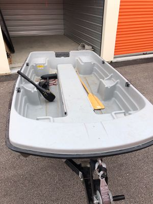 Bassten fishing boat with trailer for Sale in Mount Prospect, IL
