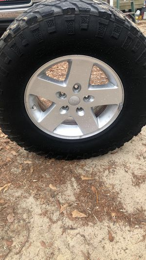 Jeep wheels for Sale in Holly Springs, NC