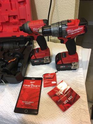 Milwaukee M18 ONE KEY NEW for Sale in Kent, WA