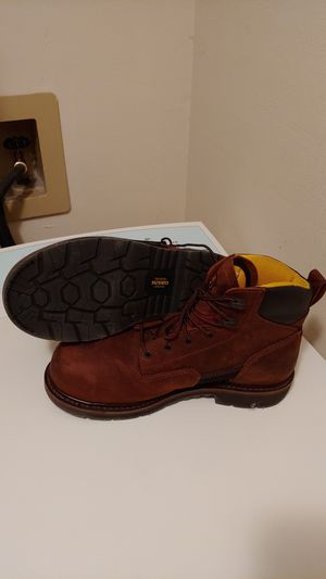 Carolina men's work boots size 11 1/2 only worn a couple times for Sale in Spring Hill, FL