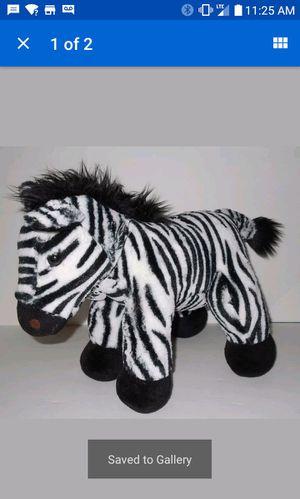 Zebra retired Build a bear animal stuffed plush toy for Sale in Bolingbrook, IL