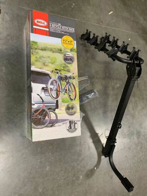 """New in box 1.25 inch or 2"""" hitch receiver heavy duty 4 bikes bicyle rack carrier hitchbiker 450 for Sale in Pico Rivera, CA"""