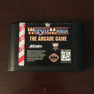 WWF WrestleMania: The Arcade Game (Sega Genesis, 1995) for Sale in Pennsauken Township, NJ