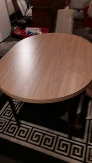 Vintage kitchen table with 6 chairs for Sale in Tacoma, WA