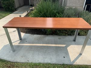 Office tables 6 feet long 30 inches wide 29 inches tall sale single or bundle for Sale in Visalia, CA