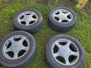Mustang Tires and Rims set of 4 for Sale in Tacoma, WA