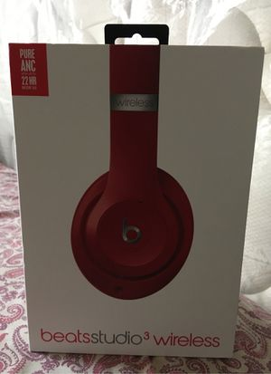 Apple Beat Studio 3 wireless New Red for Sale in Pasadena, TX