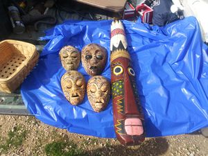 Indonesian hand made face masks for Sale in Gonzales, CA