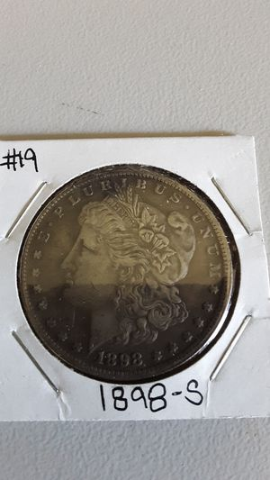 1898-S Morgan Silver Dollar Coin for Sale in Greenville, OH