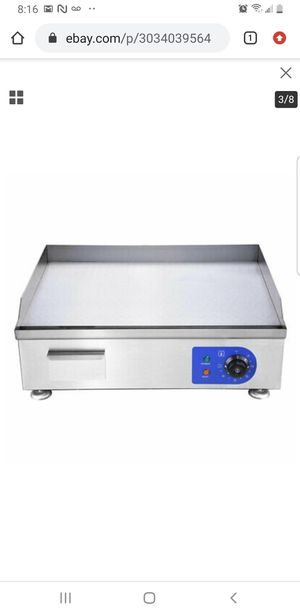 2500W 24 inch Electric Countertop Griddle Flat Top Grill for Sale in Bellflower, CA