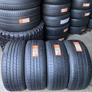 225-45-18 Set 4tires 80% Life 2Hankook 2Nexen Fresh Ready To Mount for Sale in Riverview, FL