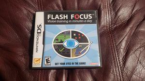 Nintendo DS Game - Flash Focus for Sale in Cerritos, CA