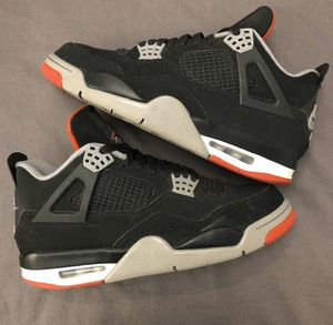AIR JORDAN 4 2018 RETRO BRED SIZE 10! 100% AUTHENTIC for Sale in Queens, NY