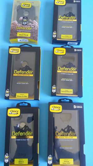 Otterbox Defender case for IPhone 5 / 6 / 7 / 8 / plus + / X / XR / Xs Max & Samsung Galaxy S7 / S8 / S9 / 10 / Edge / Plus + / Note 5 / 8 / 9 / New for Sale in El Monte, CA