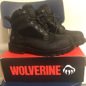 Black, Steel Toe, Size 11 Boots for Sale in Glendale Heights, IL