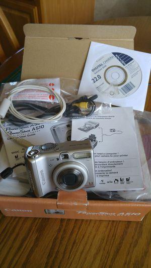 Canon A510 Digital Camera for Sale in Buffalo, NY