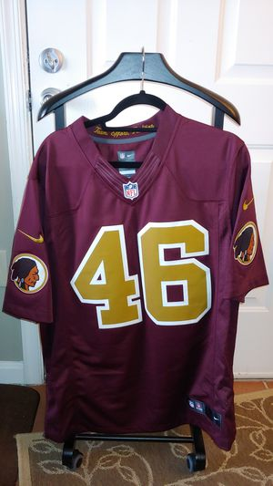 Redskins NFL pro stiched Jersey for Sale in Alexandria, VA