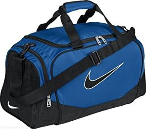 Blue and black nike duffle bag small for Sale in Weston, FL