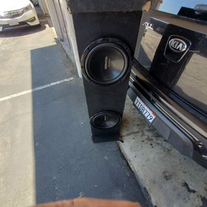"Kenwood subwoofers 12"" for Sale in Montebello, CA"
