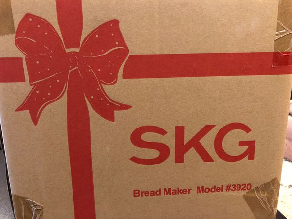 SKG - Brand New Bread Machine 2 LB #3920