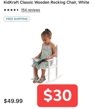 Kids rocking chair for Sale in Visalia, CA