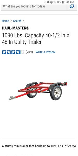 UtilityTrailer With Wood floored for Sale in Lebanon, PA