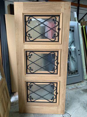 36x80 Exterior Wood Door for Sale in Miami, FL