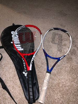 Two for One Tennis Rackets! for Sale in Garden Grove, CA