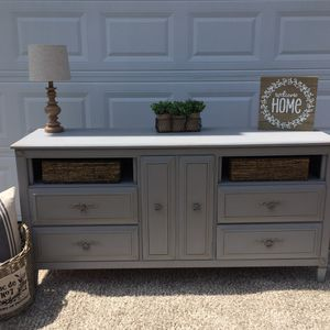 Farmhouse dresser buffet tv console changing table for Sale in Spring Hill, TN