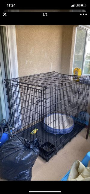 Xxl dog kennel for Sale in Moreno Valley, CA
