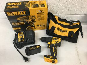 Dewalt ATOMIC 20 Volt Max Brushless 1/2 in. Compact Hammer Drill Kit for Sale in Mesa, AZ